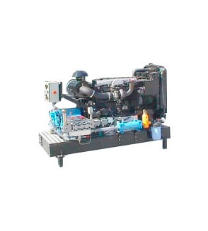Højtryksanlæg 90 kW diesel