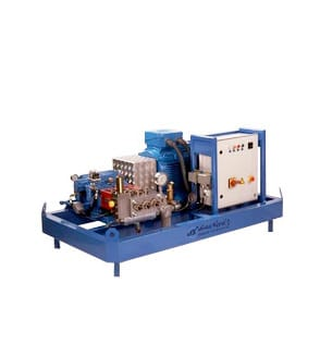 Højtryksanlæg 90 kW elektrisk